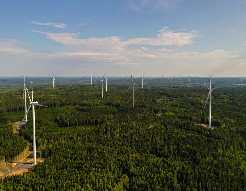 Amazons Forsta Vindkraftspark Utanfor Usa Har Satts I Drift I Sverige Energinyheter Se